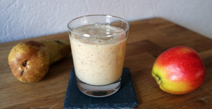 Apfel-Birnen-Smoothie