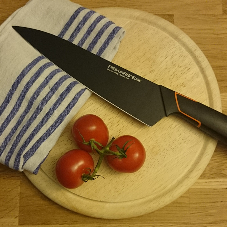 Fiskars Edge Kochmesser | universal Küchenmesser