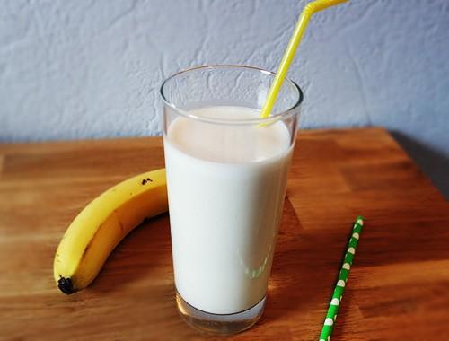 Köstlicher Bananen Milchshake