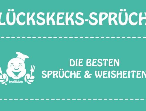 Best of Glückskeks-Sprüche