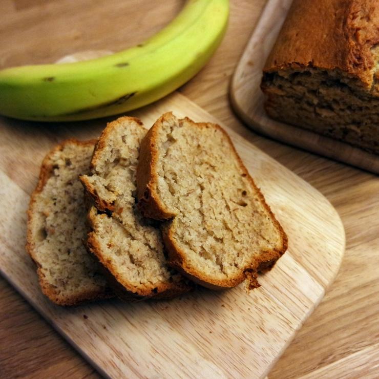 Ein saftiges Bananenbrot lässt sich leicht zubereiten