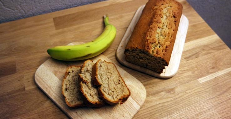 Rezept für ein saftiges Bananenbrot