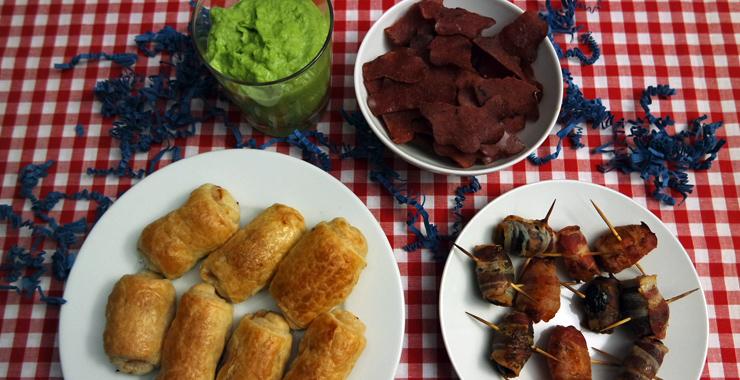 Fingerfood & Snacks für Partys
